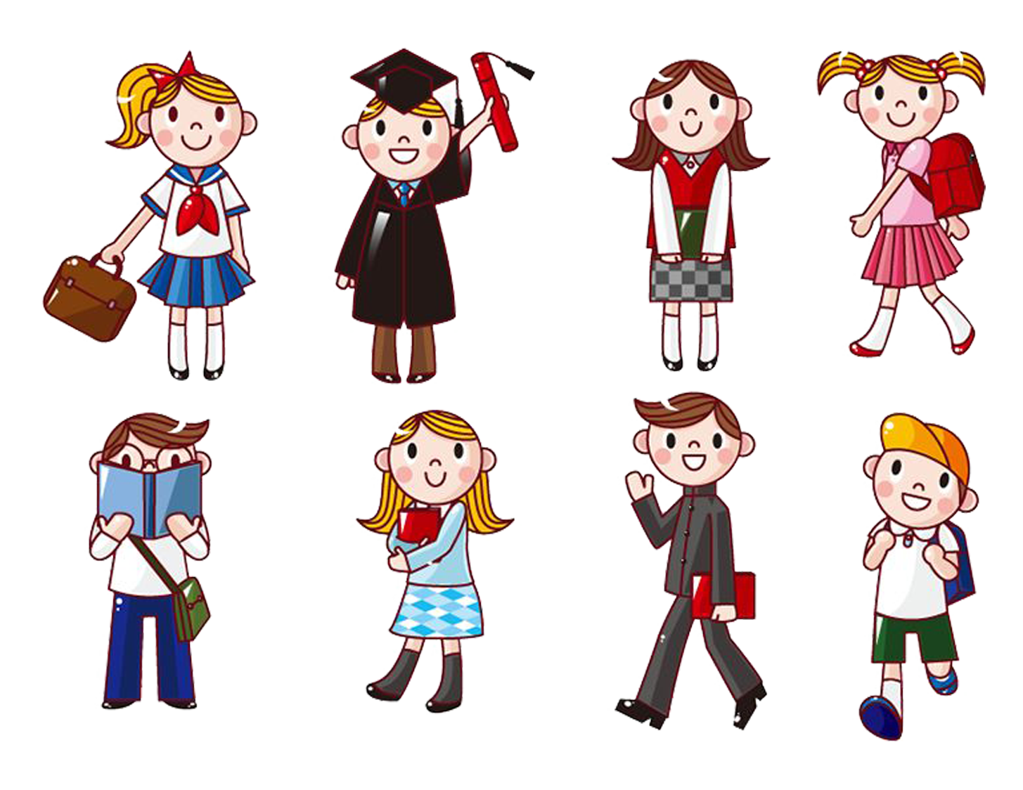 Student Cartoon Computer Icons Clip Art (With images