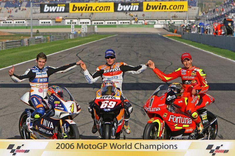 2006 Motogp World Champions Grand Prix Motorcycles Motogp Motorcycle Racing