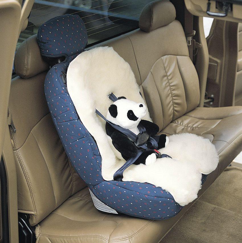 SnugSoft Washable Wool Baby Car Seat Liner