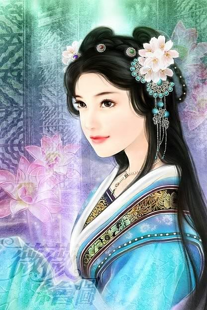 my dream girl-chinese paintings   My Dream Girls ...