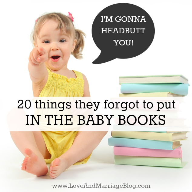 Quotes To Write In Books For Baby: 25 Things They Forgot To Put In The Baby Books