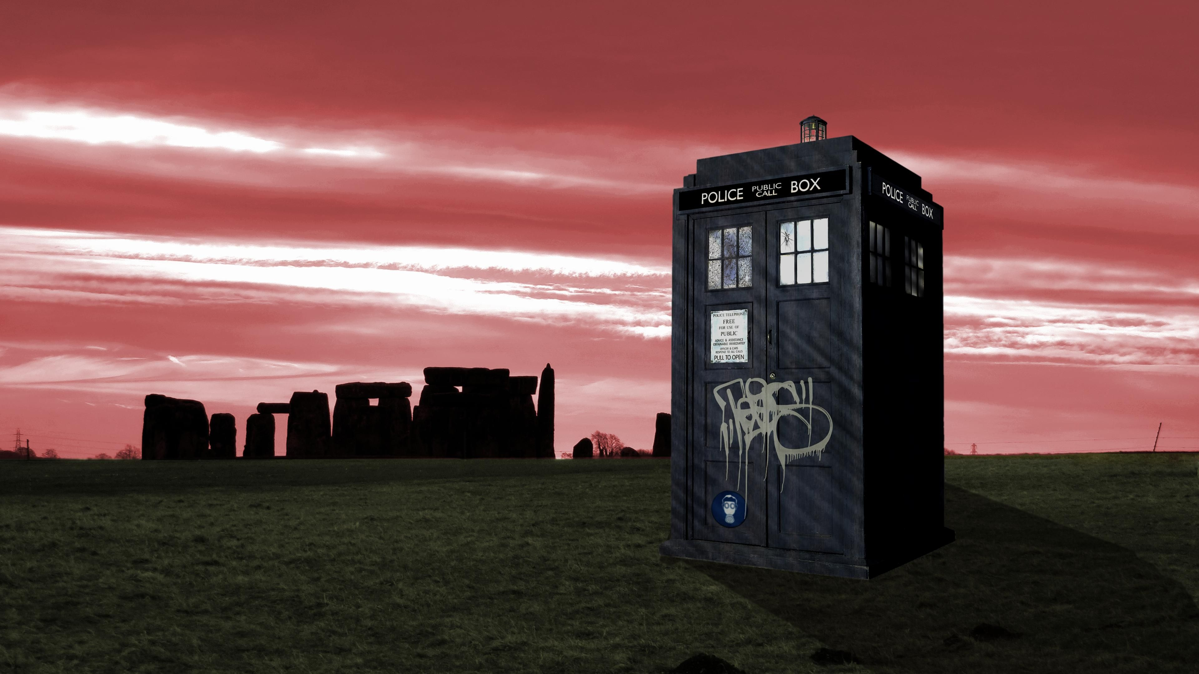 [4K] Doctor Who wallpaper I made a few years back. Touched