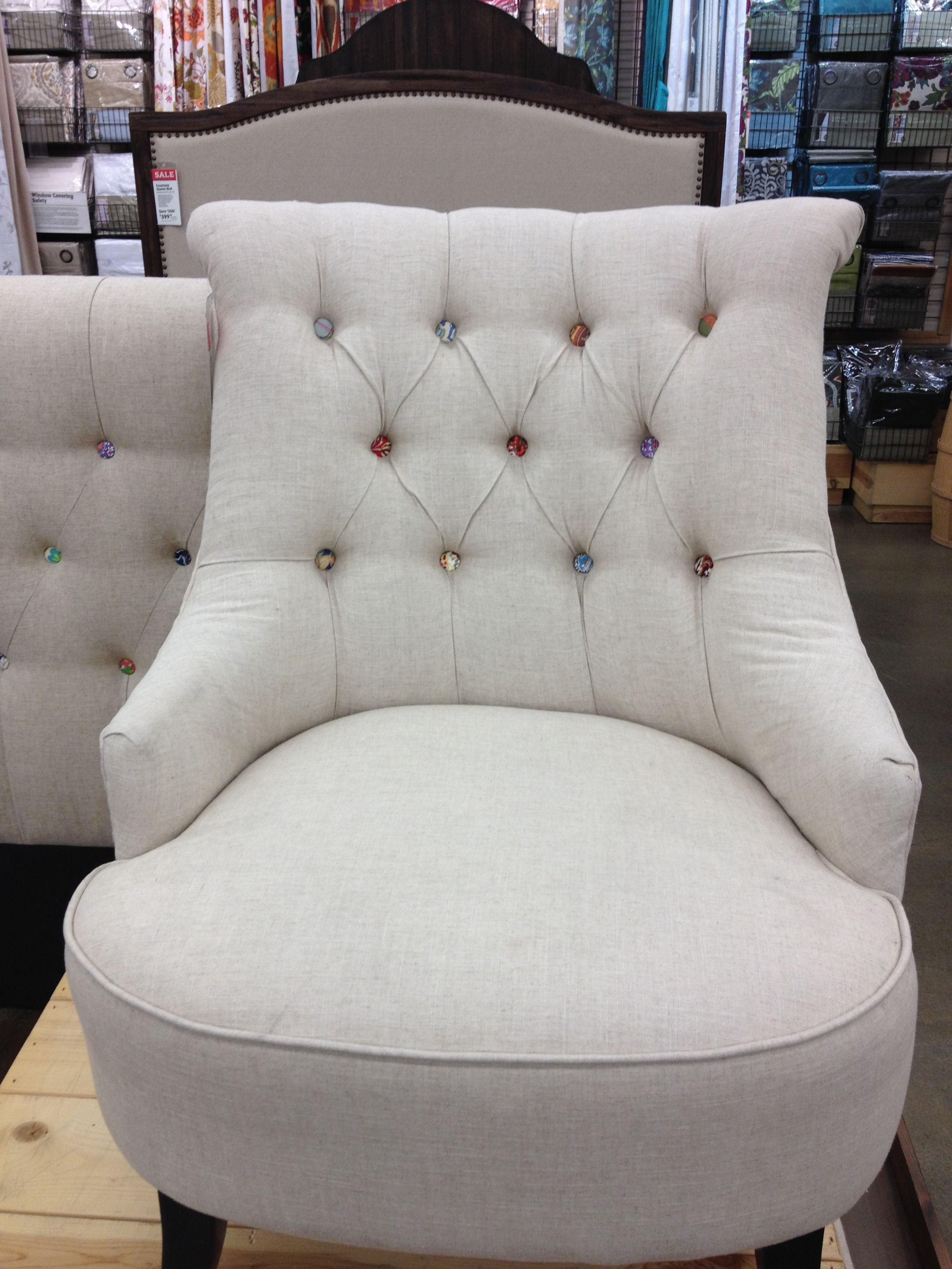 Upholstered chair Cost Plus World Market | Upholstered ...