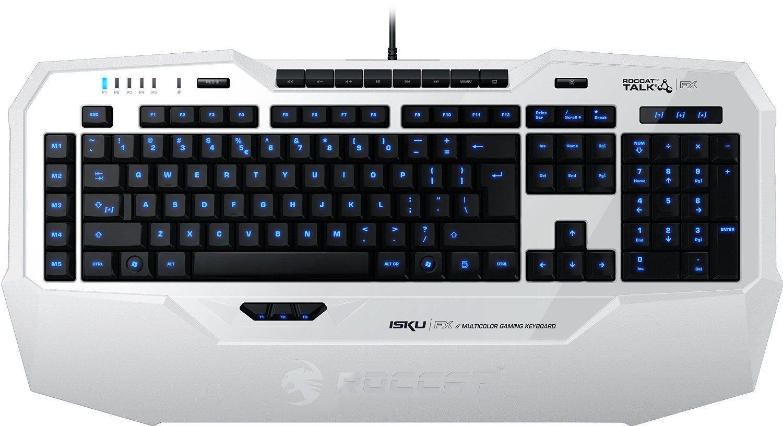 Roccat Isku Fx Multicolor Gaming Tastatur Weiss Amazon De Computer Zubehor Tastatur Gaming Tastatur Tastatur Deutsch