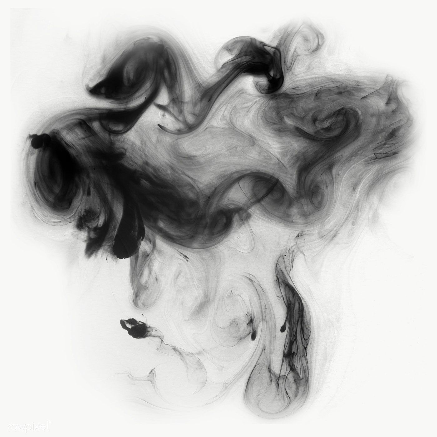 Abstract Black Watercolor Background Transparent Png Free Image By Rawpixel Com Adj