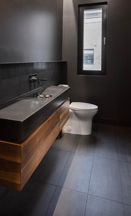 Salle de bain contemporaine - Par Rochon Cuisines et salles de bains