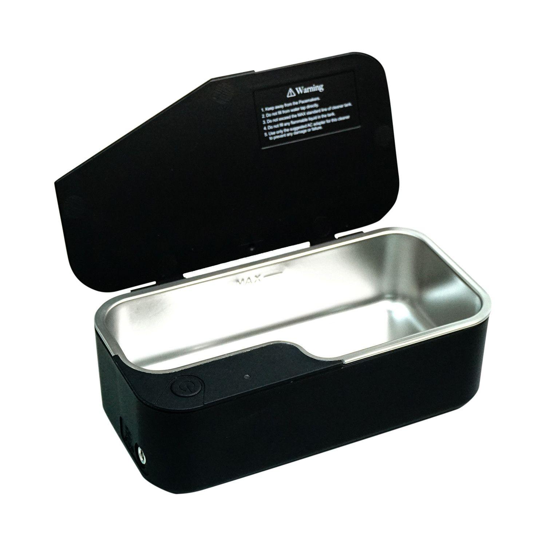 Vision.5 Ultrasonic Eyeglasses Cleaner // Black Eyeglass