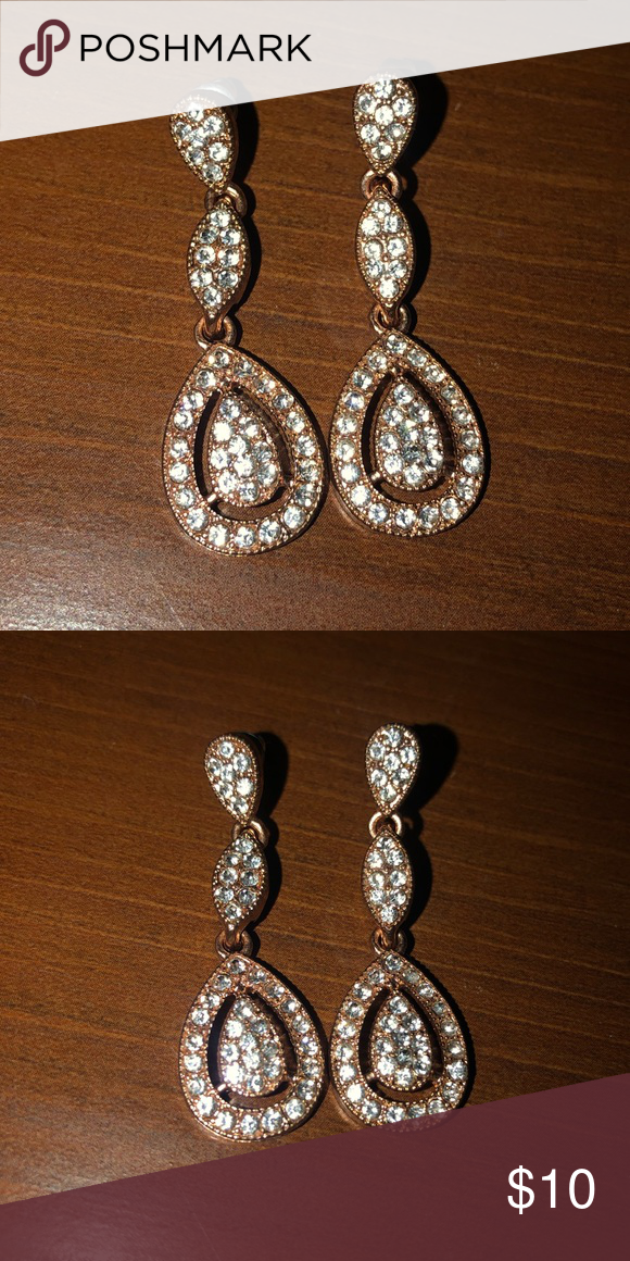 Beautiful Earrings Have Been Worn Once Are Great For Special Formal Events Icing Jewelry
