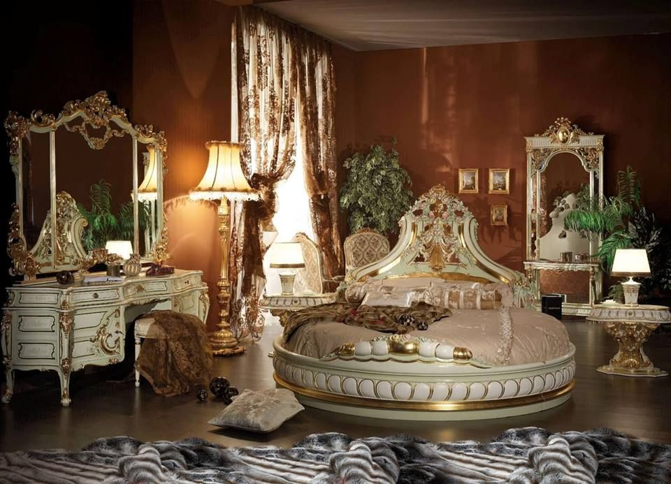 Most Ornate Round Bed Ever