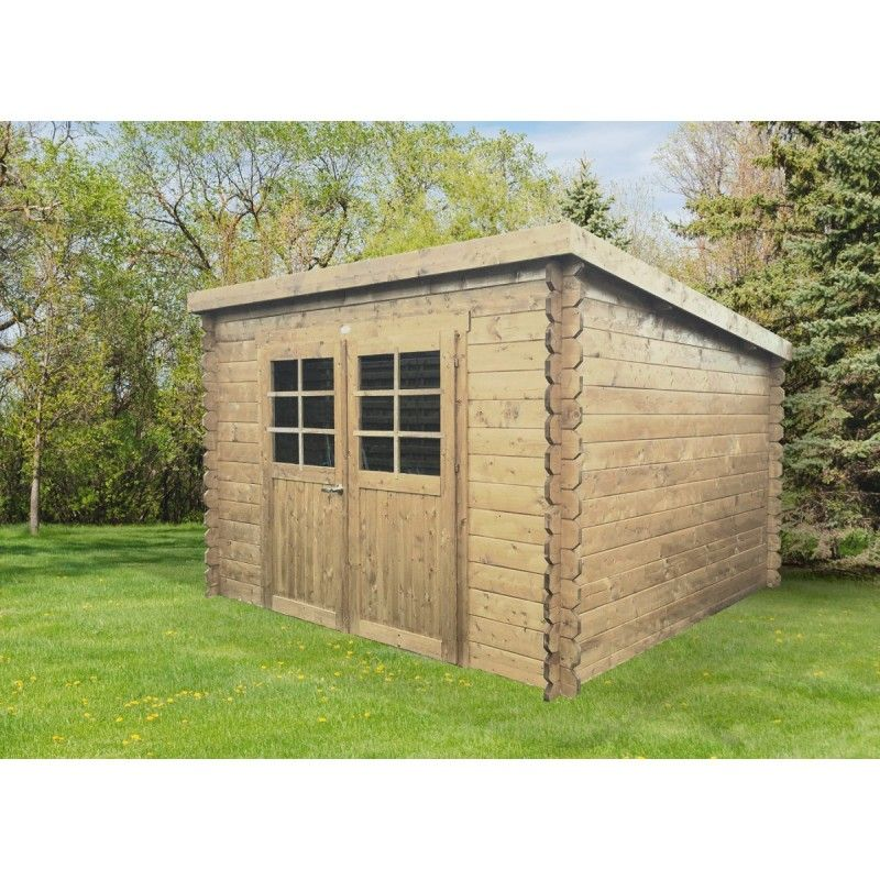 Abri bois Brest 753 m² #cabane #jardin #chalet #abrisjardin abri - cerisier abri de jardin