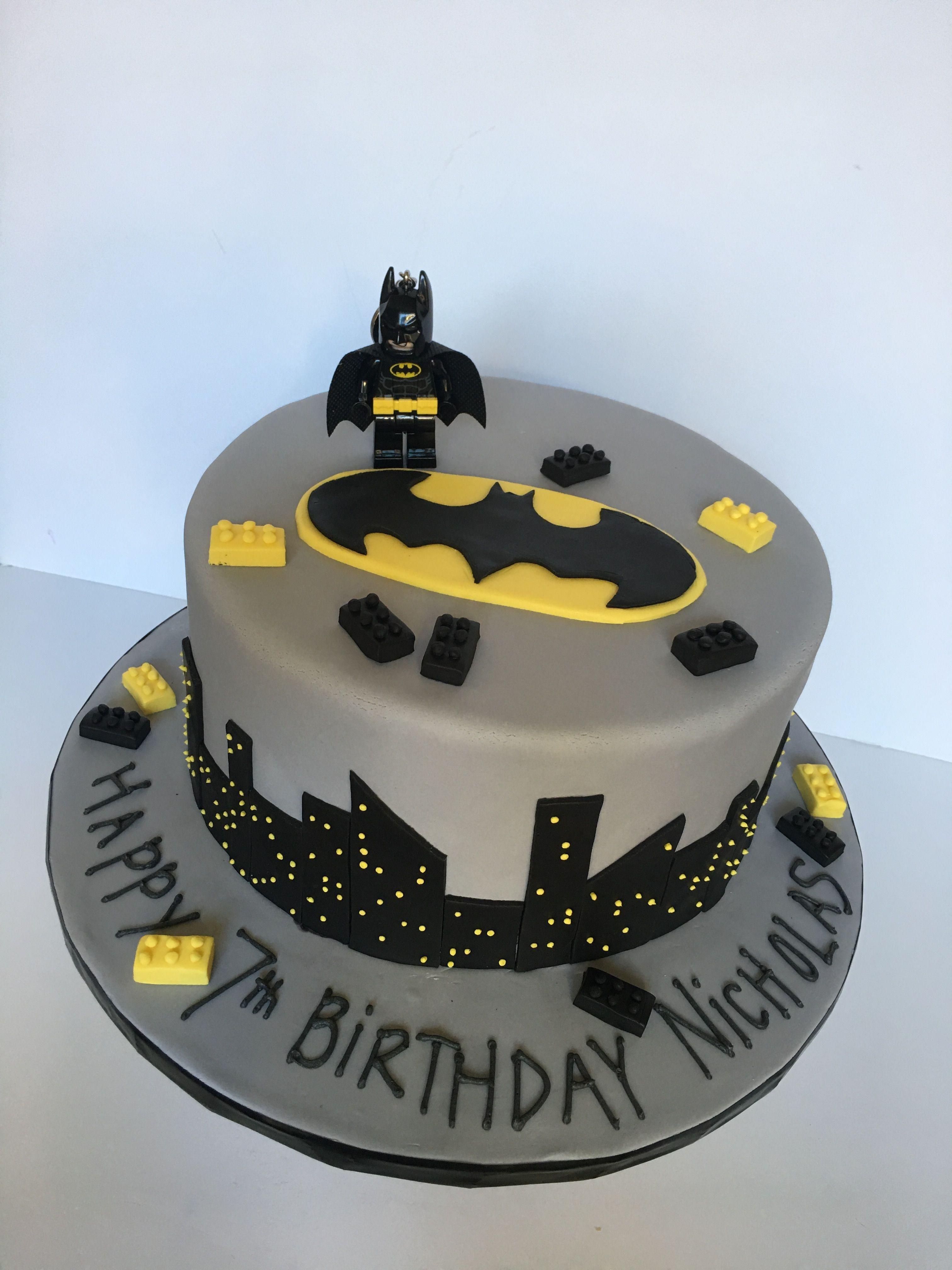 Prime 32 Pretty Photo Of Batman Birthday Cakes With Images Batman Birthday Cards Printable Opercafe Filternl