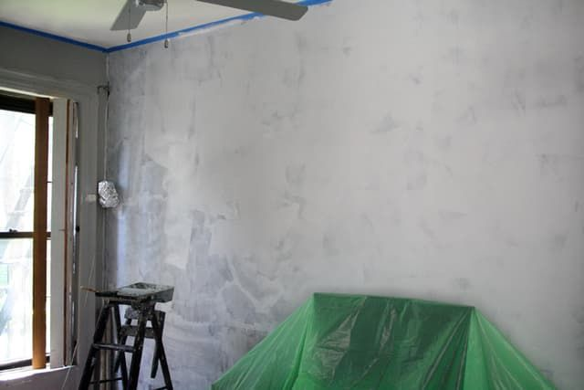 DIY Home Decor: How To Paint a Faux Concrete Wall Finish | paint ...