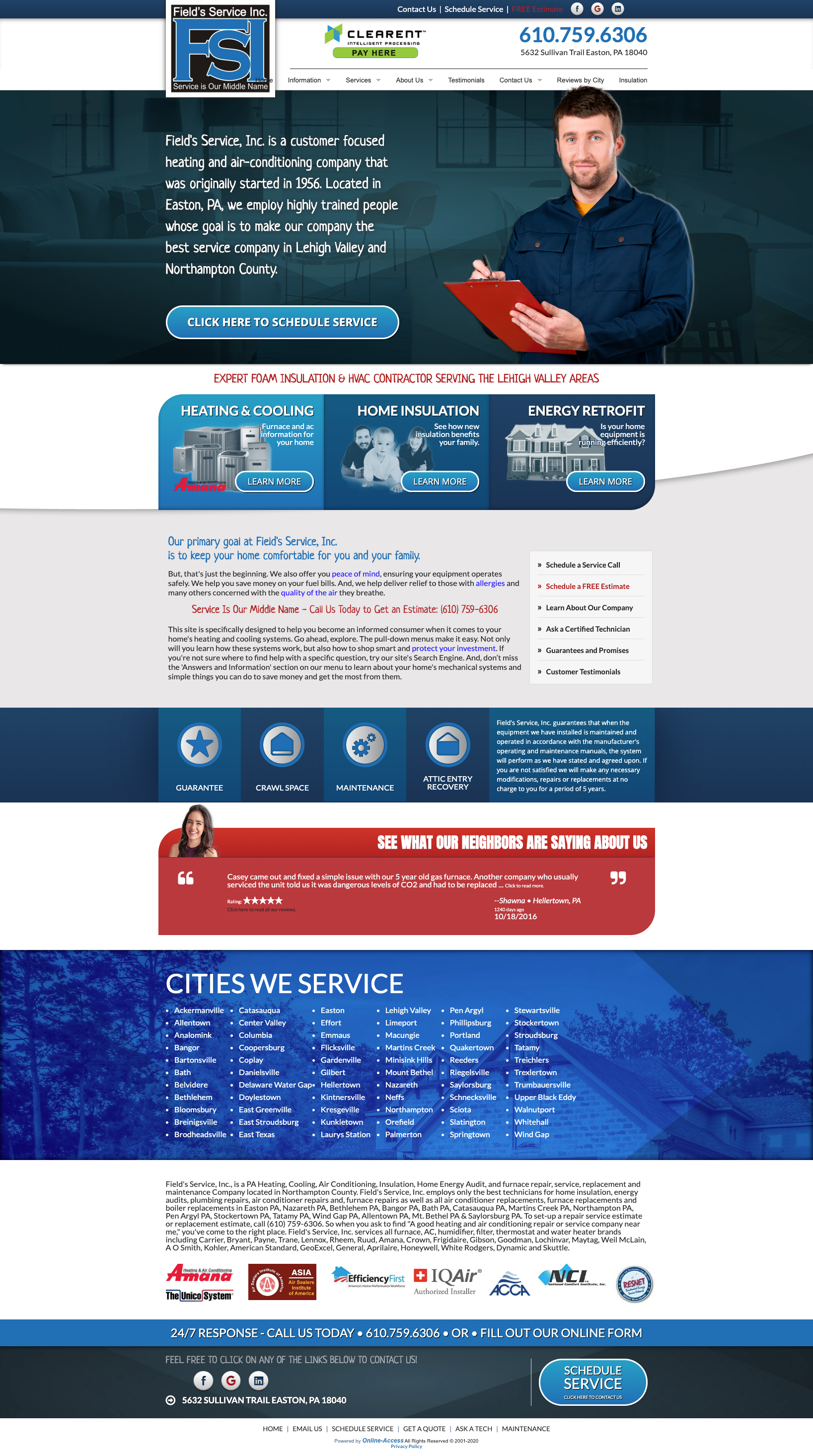 Modern Website Design In 2020 Heating And Air Conditioning Air Conditioning Companies Modern Website Design