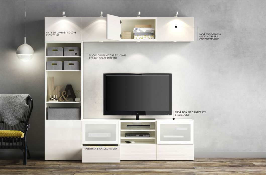 mobili per soggiorno ikea best mi casa in 2019 ikea tv wall decor tv lighting