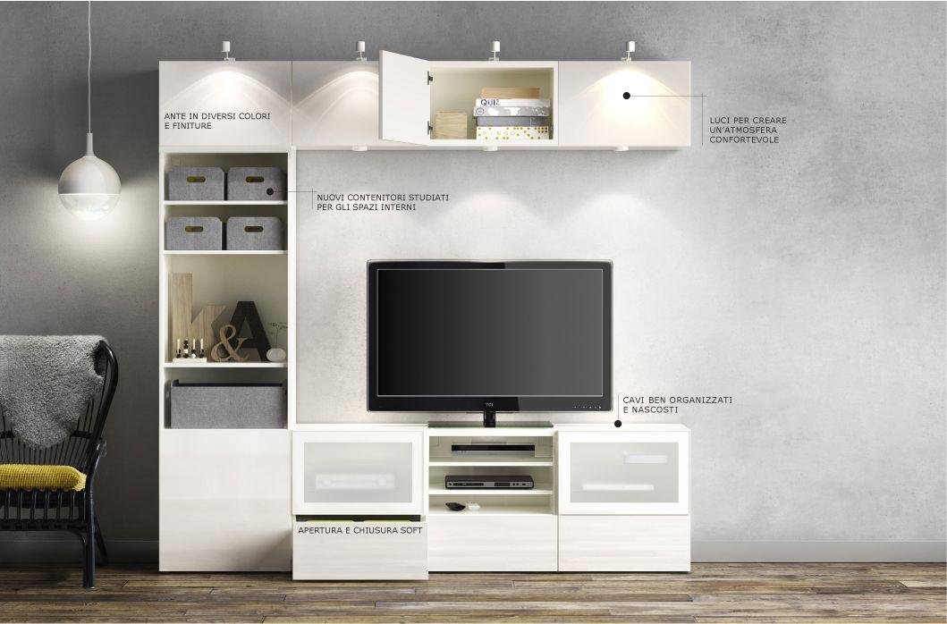 Mobili Per Soggiorno Ikea Bestå Mi Casa In 2019 Ikea