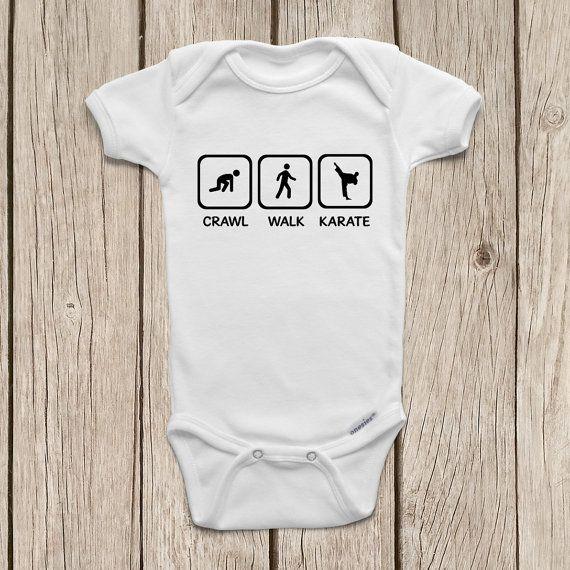 Baby Vest Crawl Walk Martial Arts