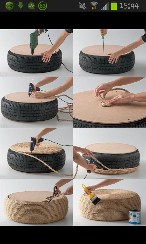 Roata de masina imbracaterope tire design hand made pinterest rope tire design diy rope tire easy crafts diy ideas diy crafts do it yourself easy diy diy tips diy images do it yourself images diy photos diy pics easy solutioingenieria Images