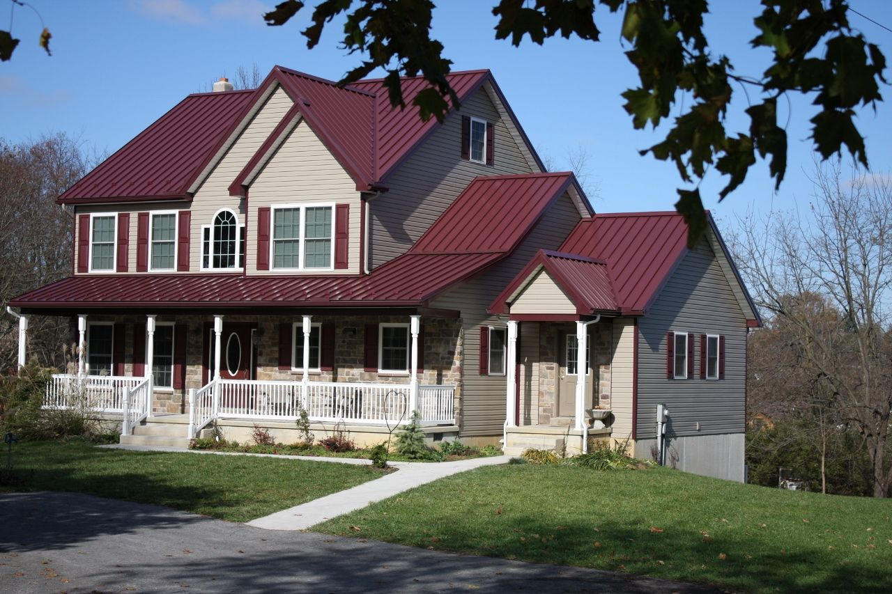 Best Excellent Red Metal Roof Homes 11 Remodel Home Decoration 640 x 480