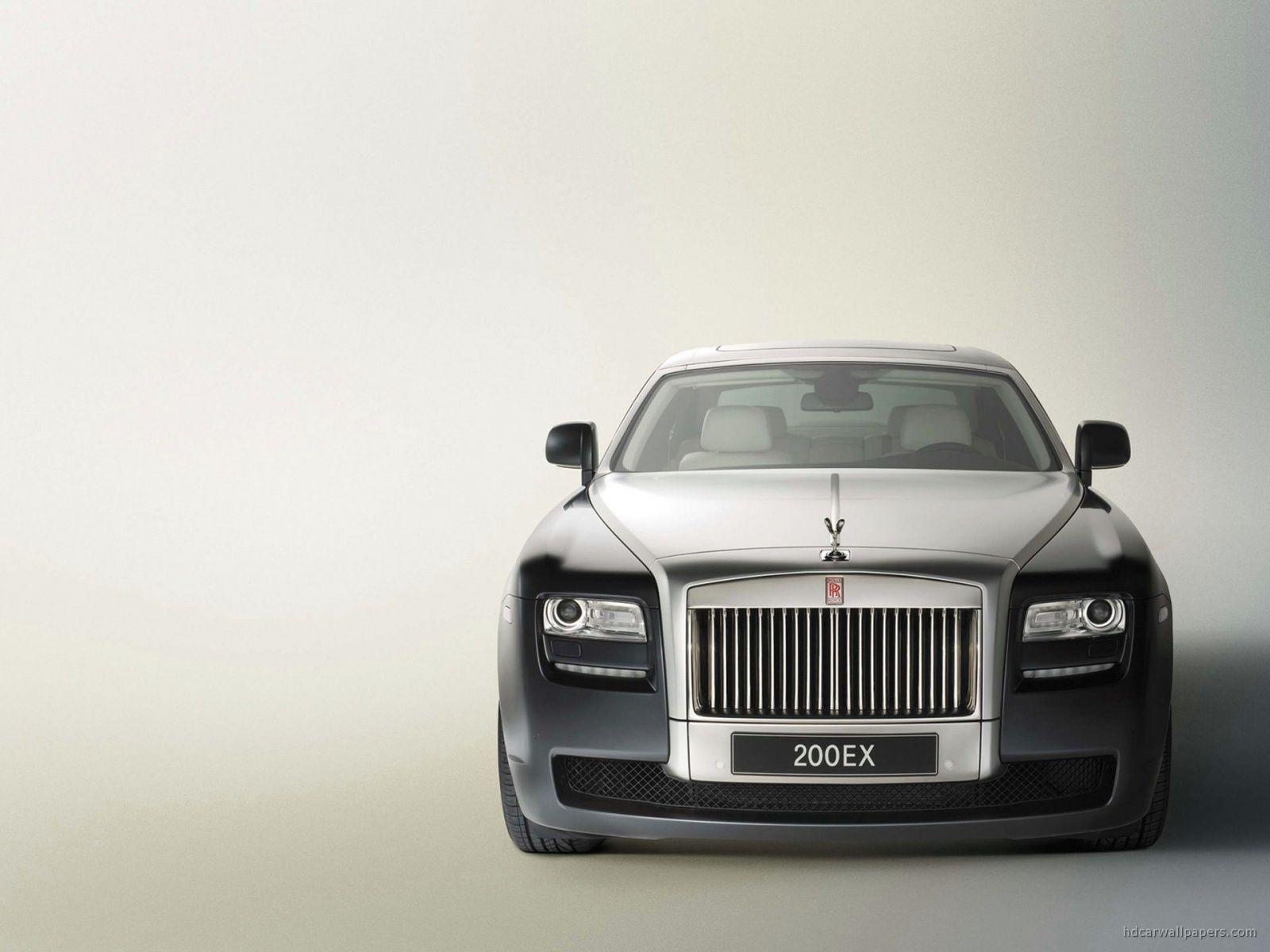 Silver Rolls Royce 200ex Front Rolls Royce Rolls Royce