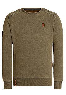 NAKETANO First Blood II - Sweatshirt for Men - Green   The Sweater ... 4b31a1106b
