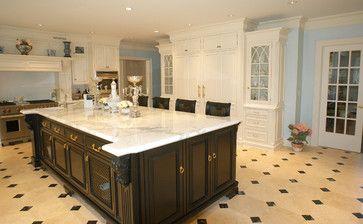 KITCHEN – Hand Painted Kitchen - traditional - kitchen - new york - Artisan Custom Interiors