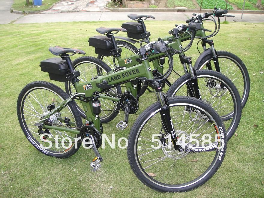Ems Land Rover Electric Bike Cool 36v 250w Land Rover Electric Bicycle Foldable Electric Bike Electric Bicycle Land Rover