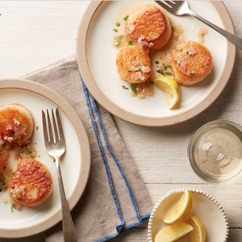 How to Make Ina Garten's Scallops Provencal