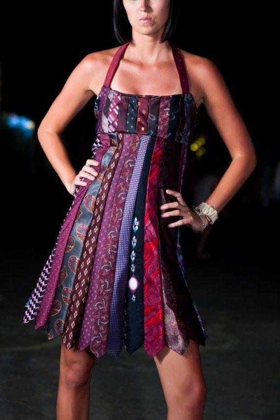 Moderno Vestidos De Dama Reciclados Ornamento - Vestido de Novia ...
