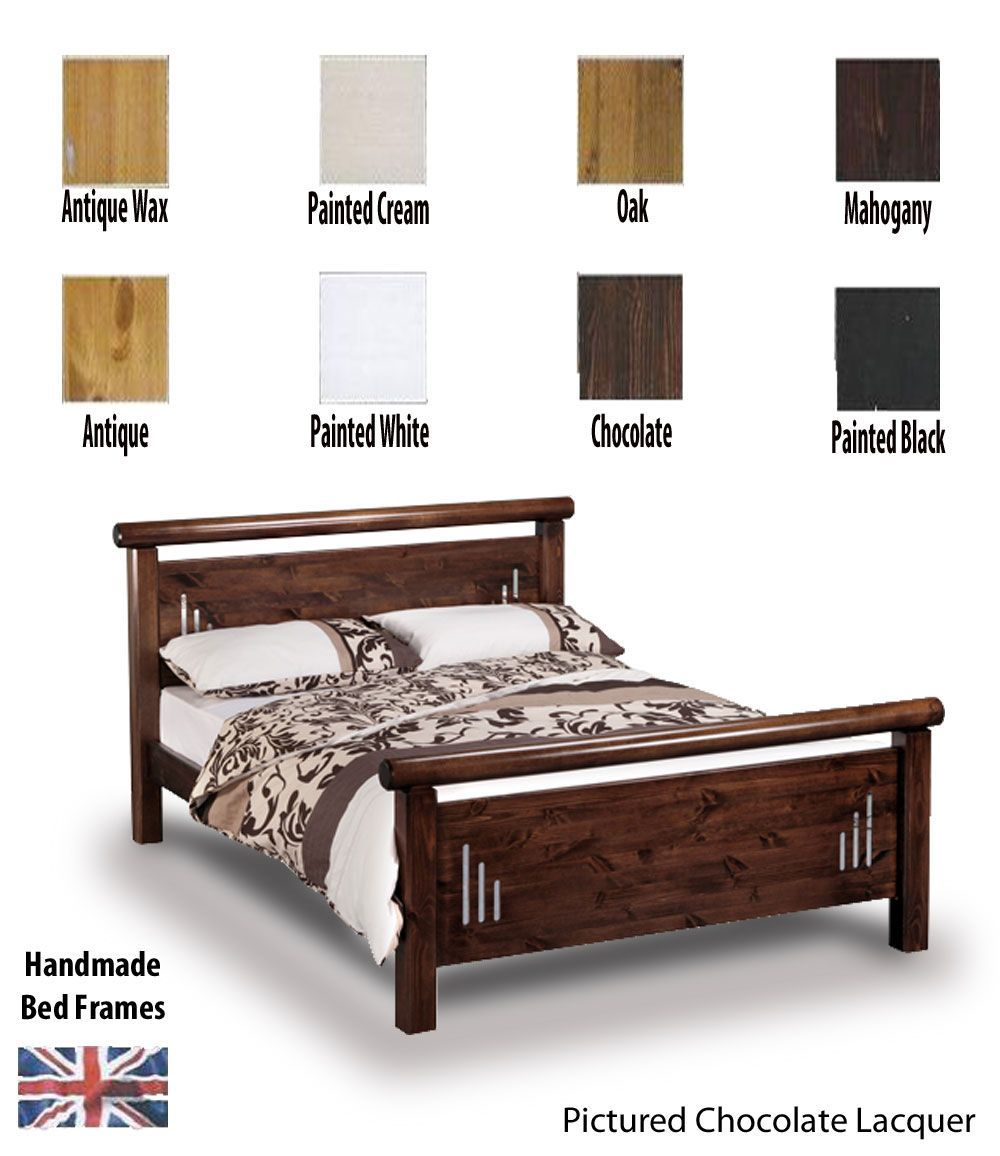 Hamish Rail End Handcrafted Super Kingsize Bed Frame