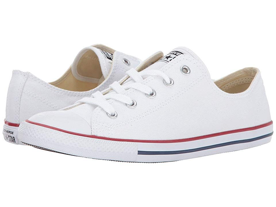 debd06a0cf4870 Converse Chuck Taylor(r) All Star(r) Dainty Ox (Classic White) Women s  Classic Shoes. Set yourself apart from the rest with this diva-esque low-pro  Chuck ...