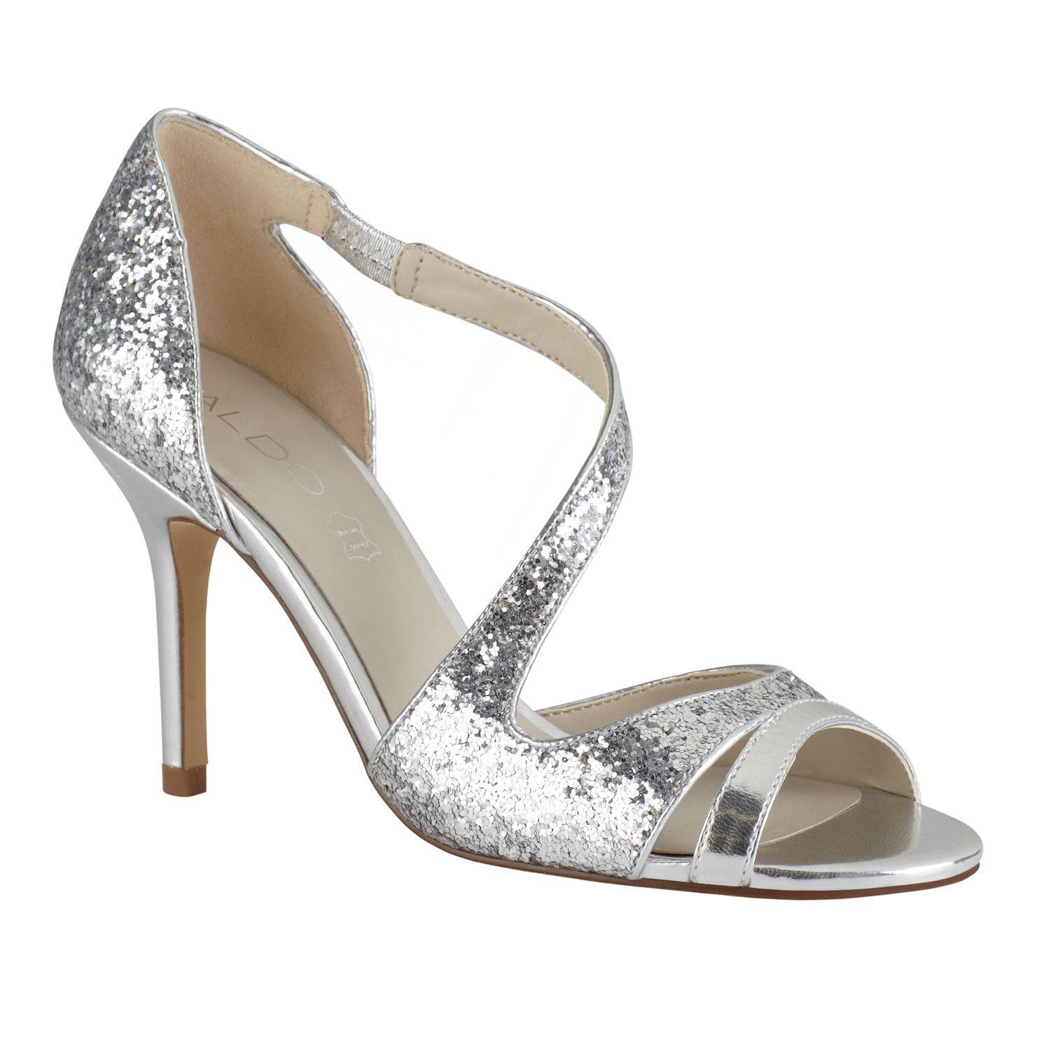 Bridal Shoes Aldo: Silver Wedding Shoes, Shoes, Silver