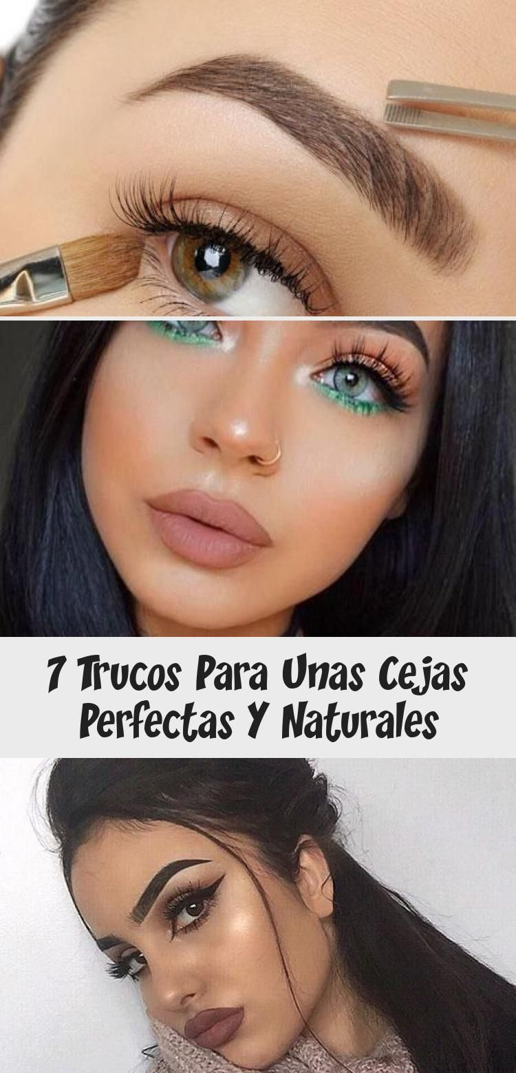 trucos para unas cejas perfectas naturales eyebrowsColor