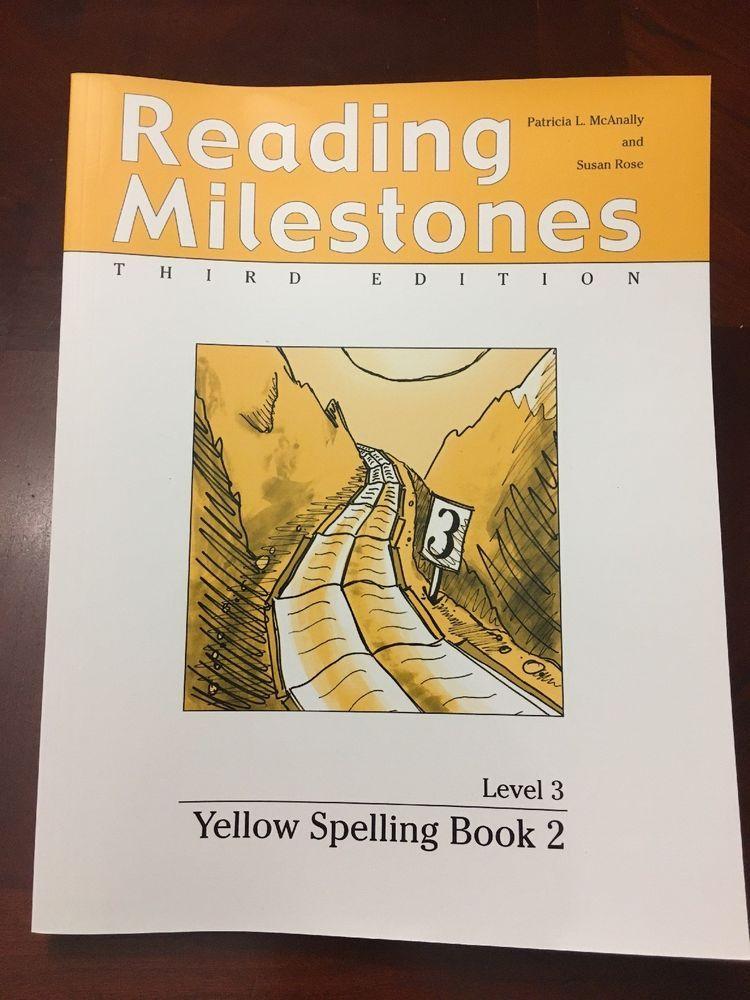 Reading Milestones 3rd Edition Level 3 Yellow Spelling Book 2 Ebay Books Reading Milestones