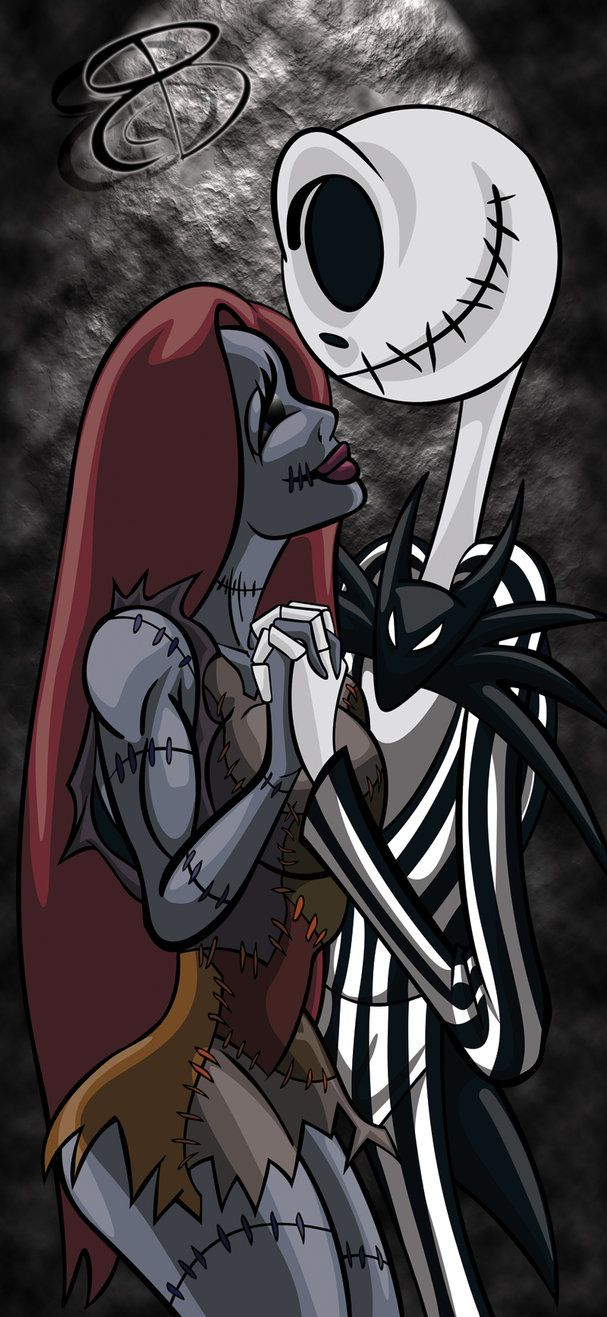 Doodle-Jack and Sally by RCBrock on deviantART