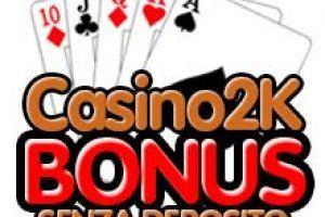 Casino online bonus di benvenuto senza deposito internet football gambling