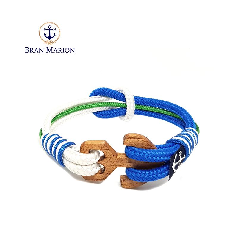 8d755c60a759 Pulsera nudo simple azul