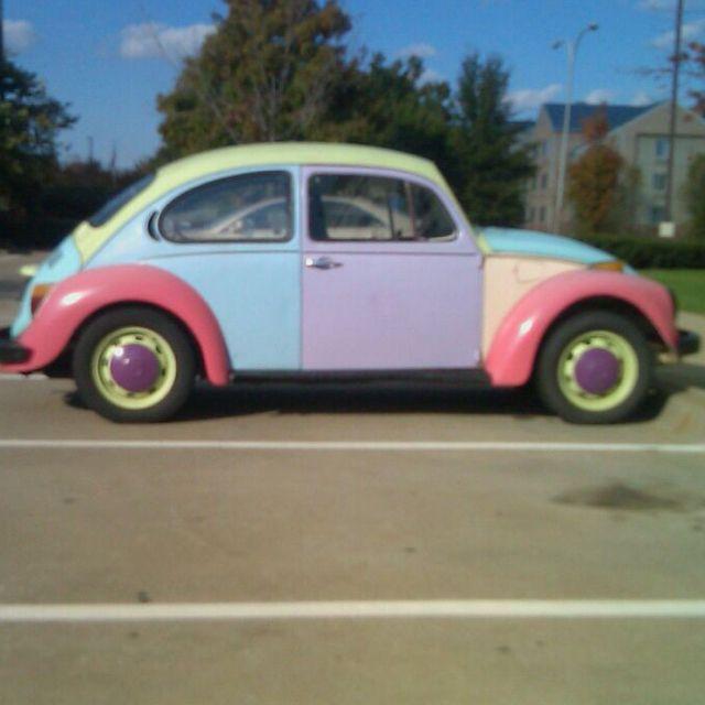 Slug Bug What Color Beetle Car Vintage Camper Vw Bug