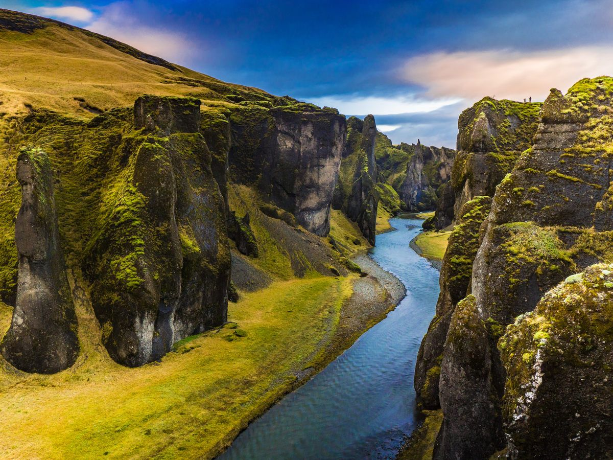 This Icelandic Canyon Looks Unreal