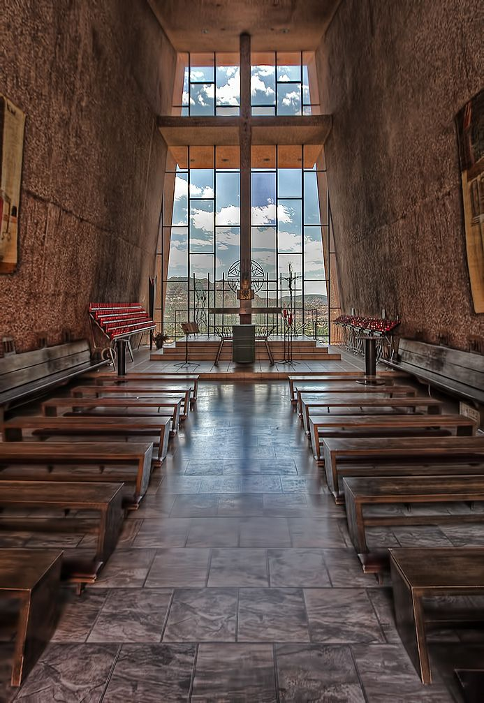 Superior Chapel Of The Holy Cross, Sedona, AZ U2013 Walking Into This Church Rendered My  Breathless And Weak In The Knees.