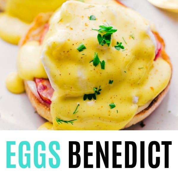 bff9e3cfbcc3 Eggs Benedict with Hollandaise Sauce is layer upon layer creamy ...