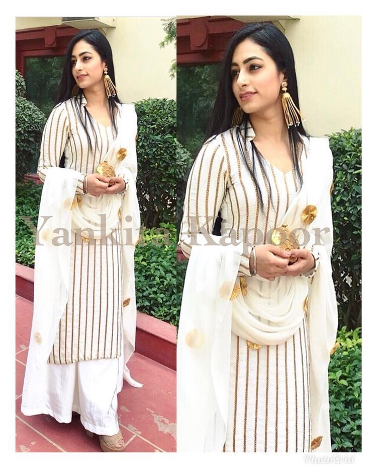 White Suit Kurta Designs Women Fashion Indian Designer Suits