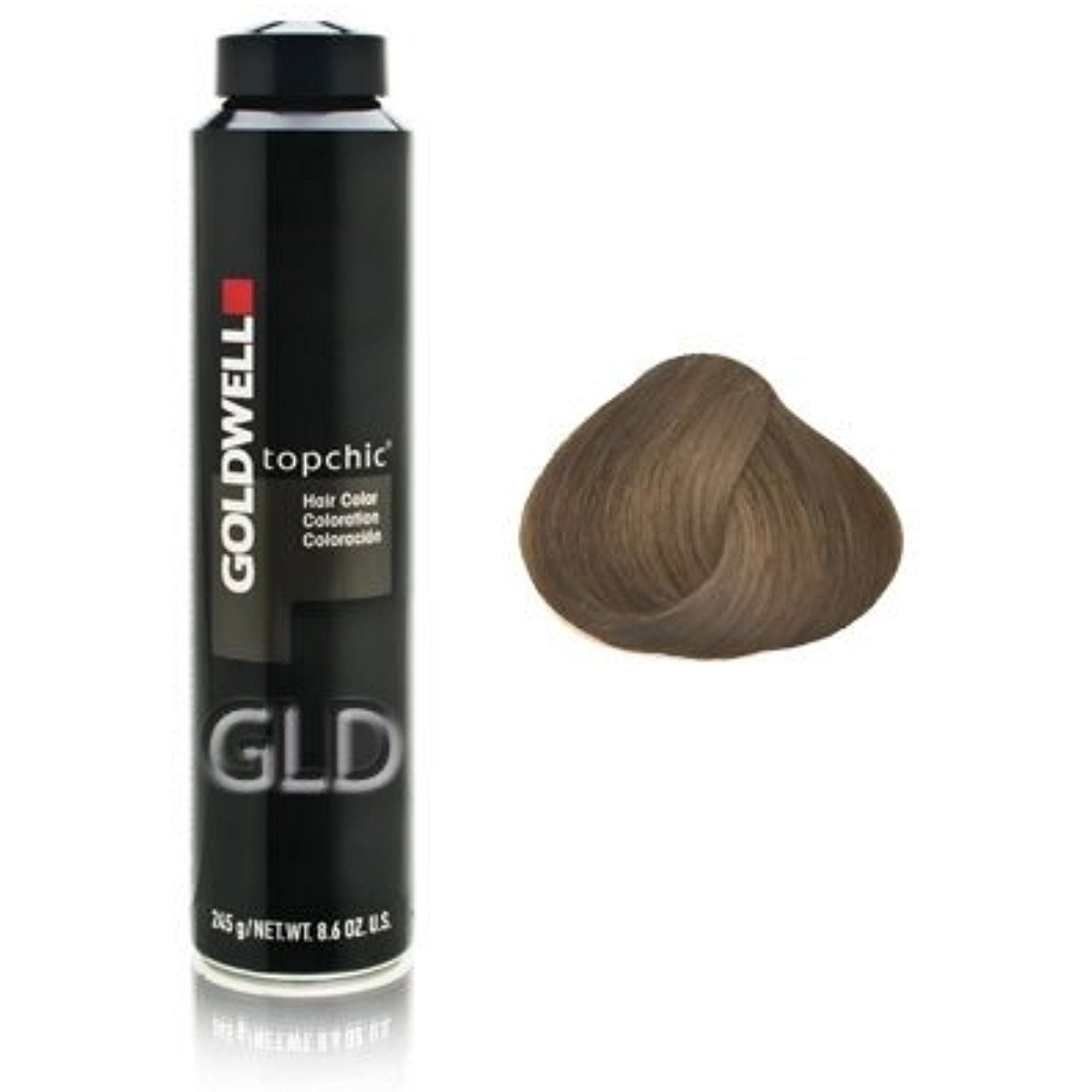Goldwell Topchic Hair Color Coloration Can 6nn Dark Blonde You