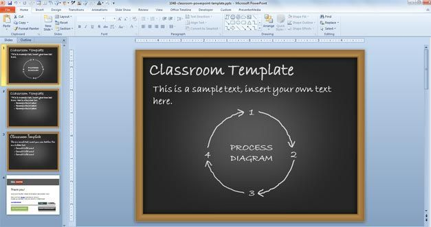 Classroom powerpoint template lugares para visitar pinterest classroom powerpoint template toneelgroepblik Images