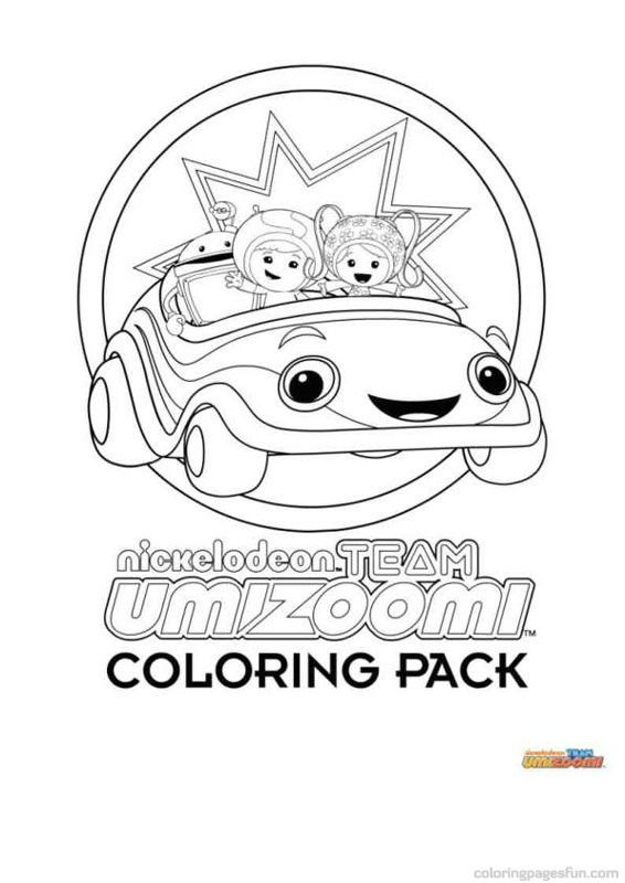 Coloring pages galore all cartoons - Team Umizoomi Coloring Pages 1 ...