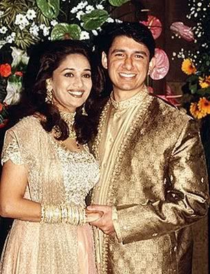 Madhuri Dixit Wedding Images