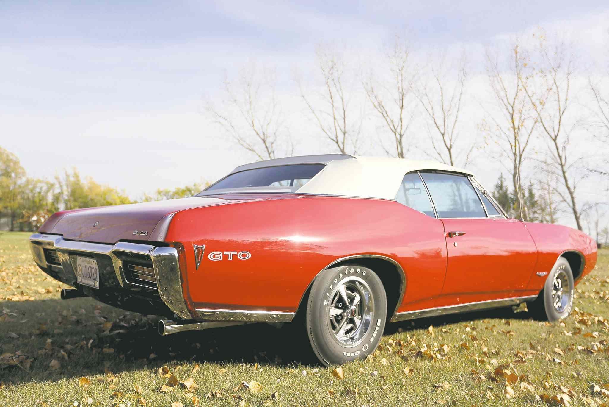 An original Winnipeg car sold by Birchwood Motors in 1968, the GTO ...