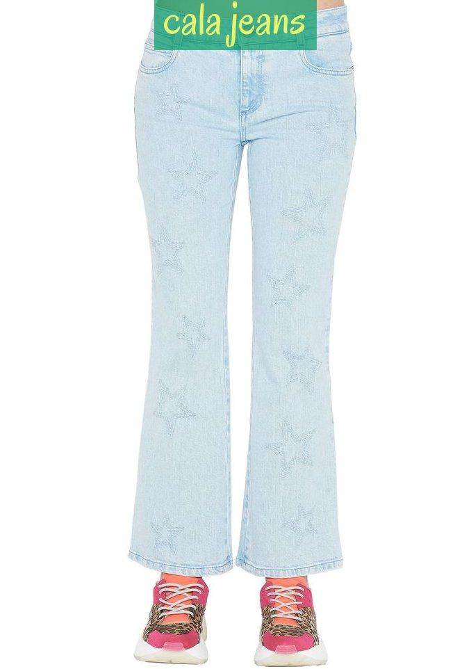 Skinny Kick Jeans From Stella Mccartney Cotton Denim Embroidered Stars