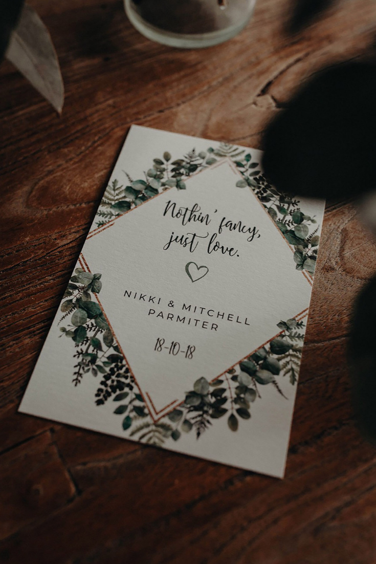 Ficus And Fig Design Is An Australian Boutique Wedding Stationery Business Speciali Cheap Wedding Invitations Wedding Invitations Australia Wedding Stationery