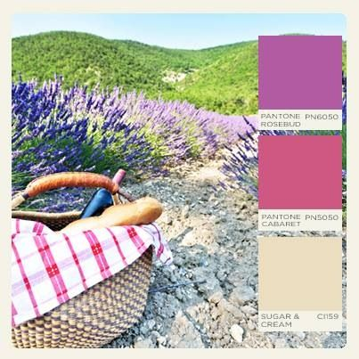 Welcome to Provence, with Pantone color
