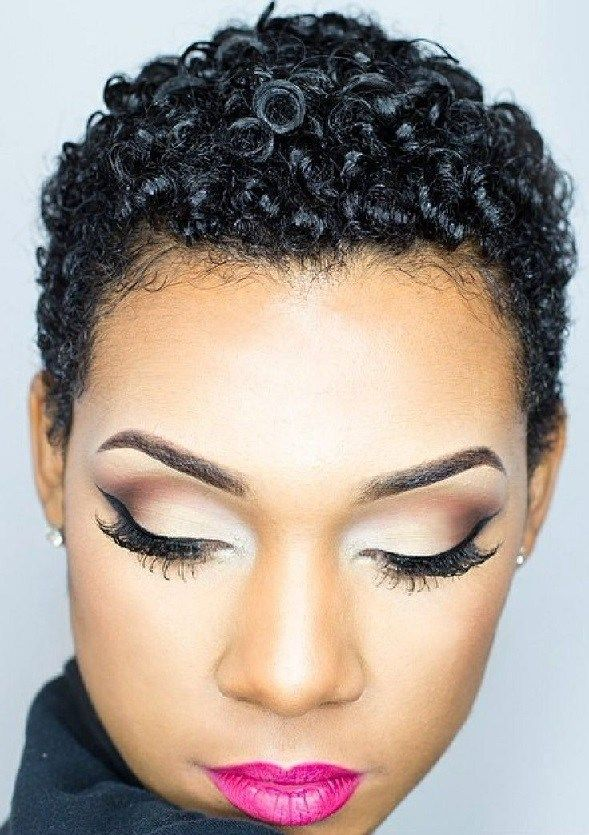 Short Hairstyles For Black Women Natural Hairstyles 5 Short Natural Haircuts Natural Hair Styles Natural Hair Styles For Black Women